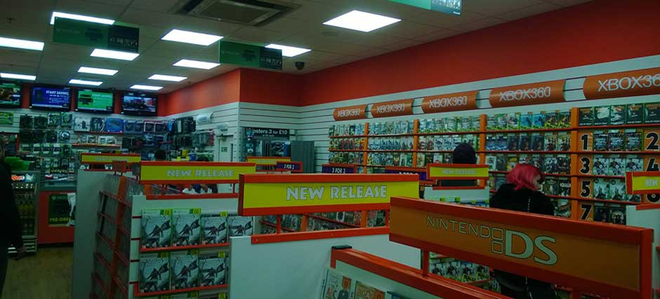 Lockwood Projects Ltd Grainger Games Interior Fit Out Of