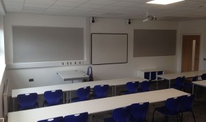 Lockwood Projects can deal with the interior refurbishment of an existing educational classroom or gym hall as well as applying new flooring, wall and ceiling finishes.
