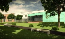 Interior fit out of classrooms, offices, canteen and public facilities